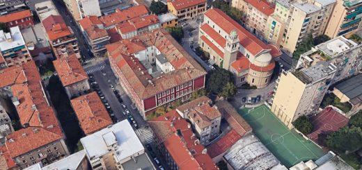 scuola Gaspardis via Donadoni Trieste
