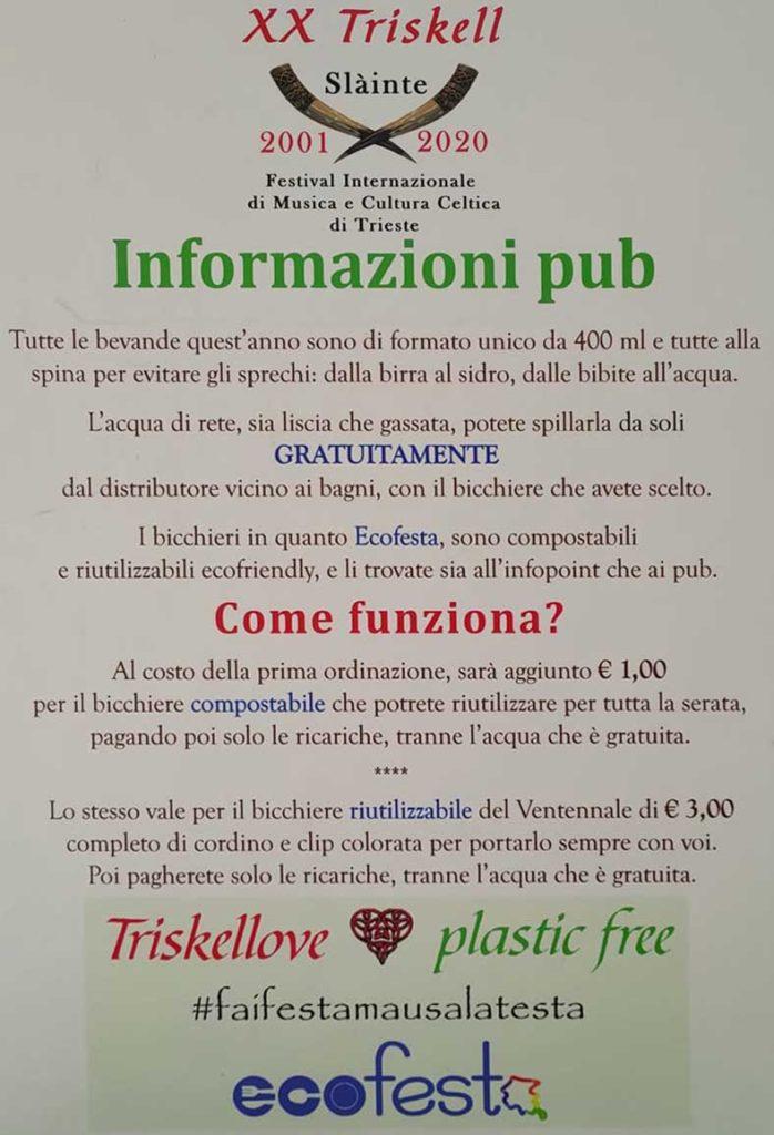 triskell informazioni pub manifesto