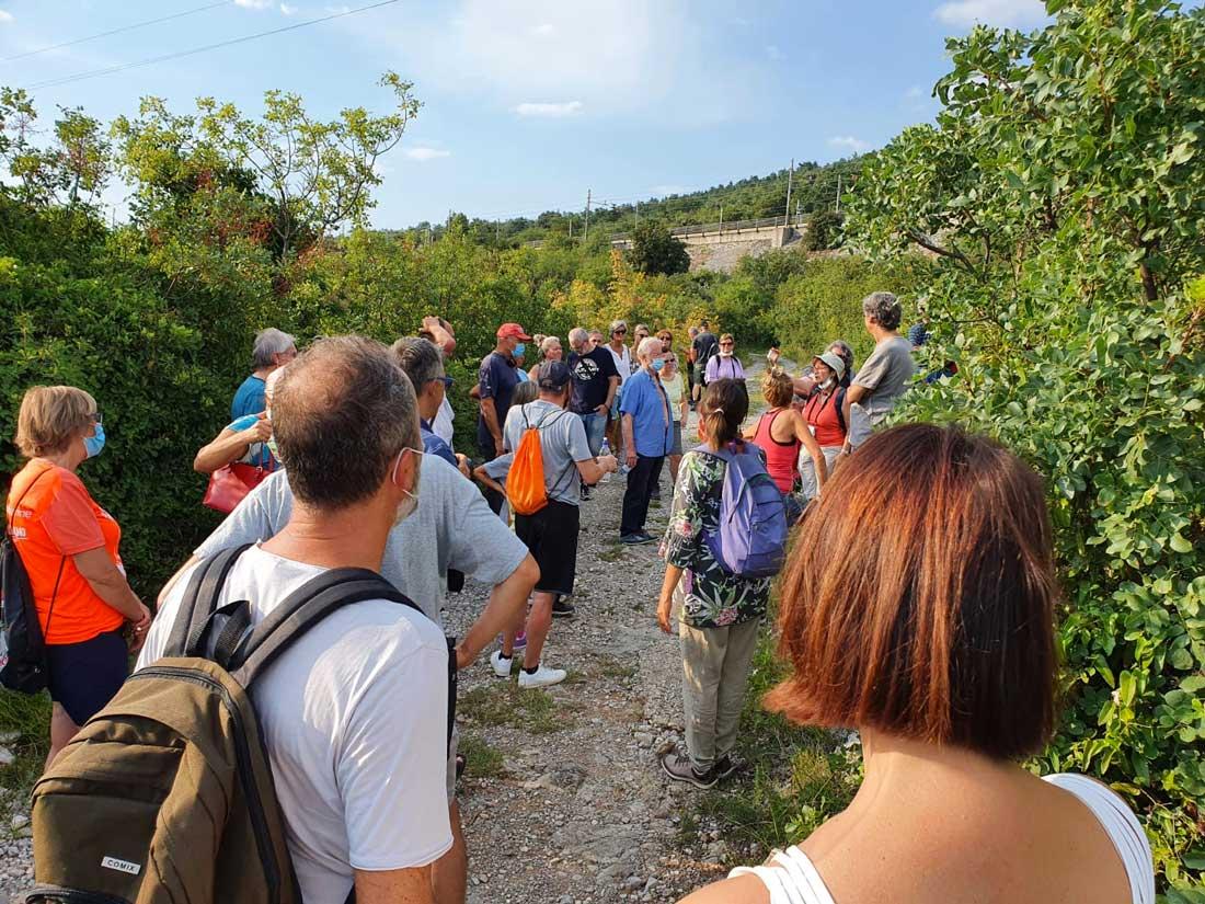 visita guidata naturalistica Duino