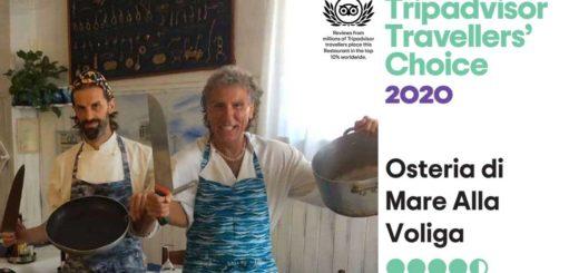 Tripadvisor Travellers Choice 2020 Voliga Trieste