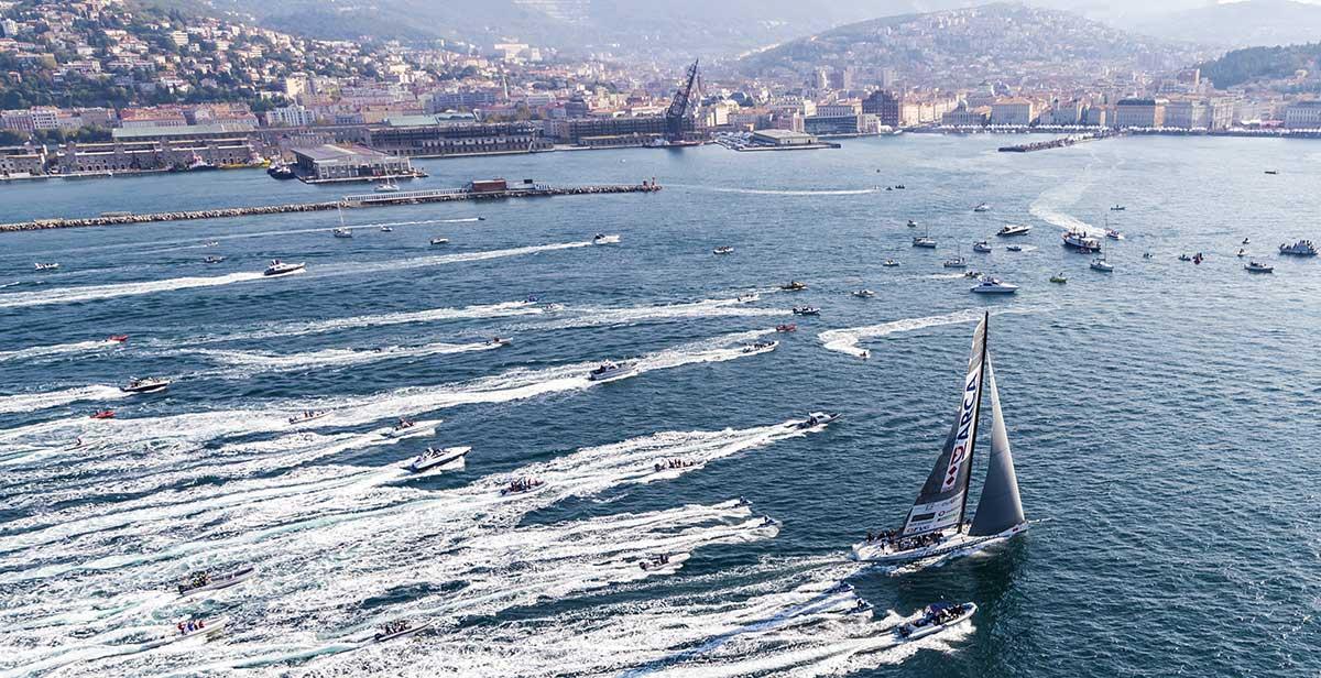 Barcolana regatta vela Trieste