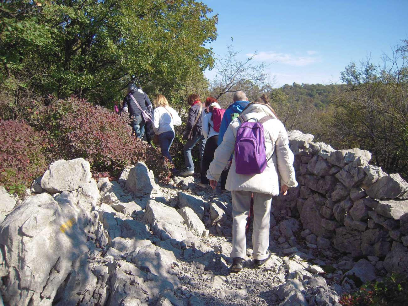 escursione Monte Ermada