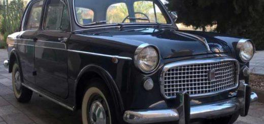 Fiat 1100 nero