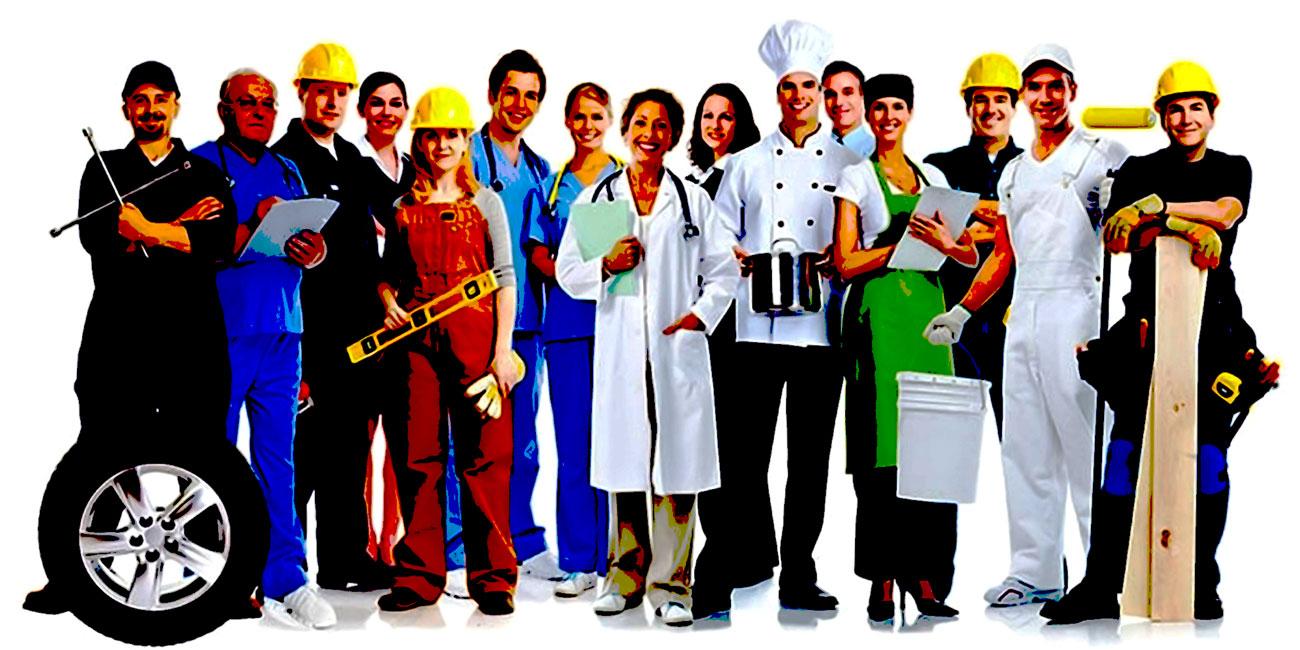 lavoratori vari