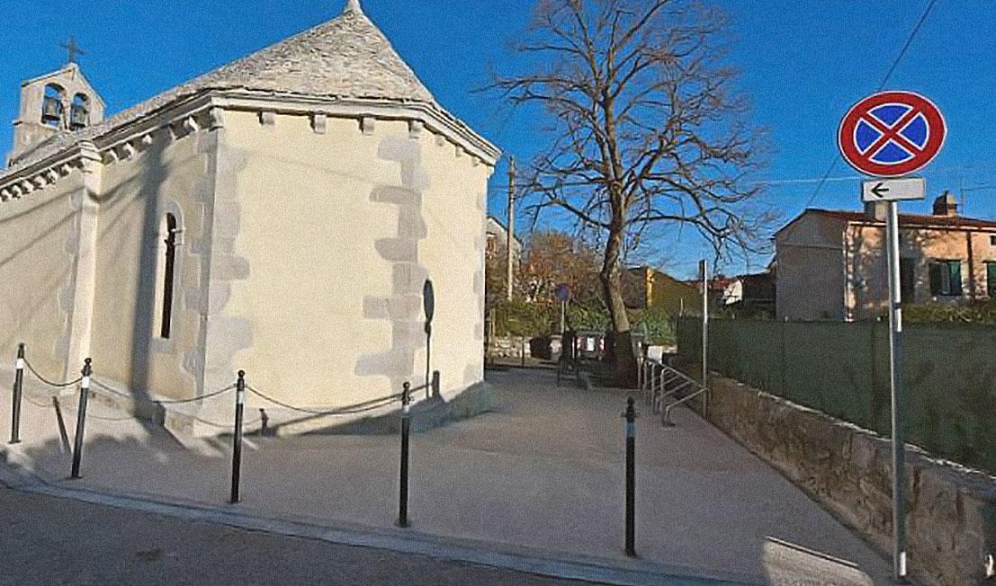 Chiesa di San Rocco a Santa Croce - Trieste
