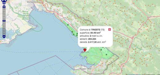 comune di Trieste mappa interattiva