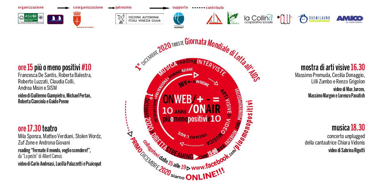 più o meno positivi lotta aids hiv 2020 Trieste