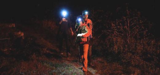 ricerche notturne in Val Rosandra