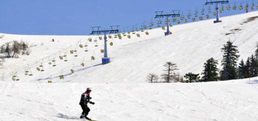 sci montagna neve