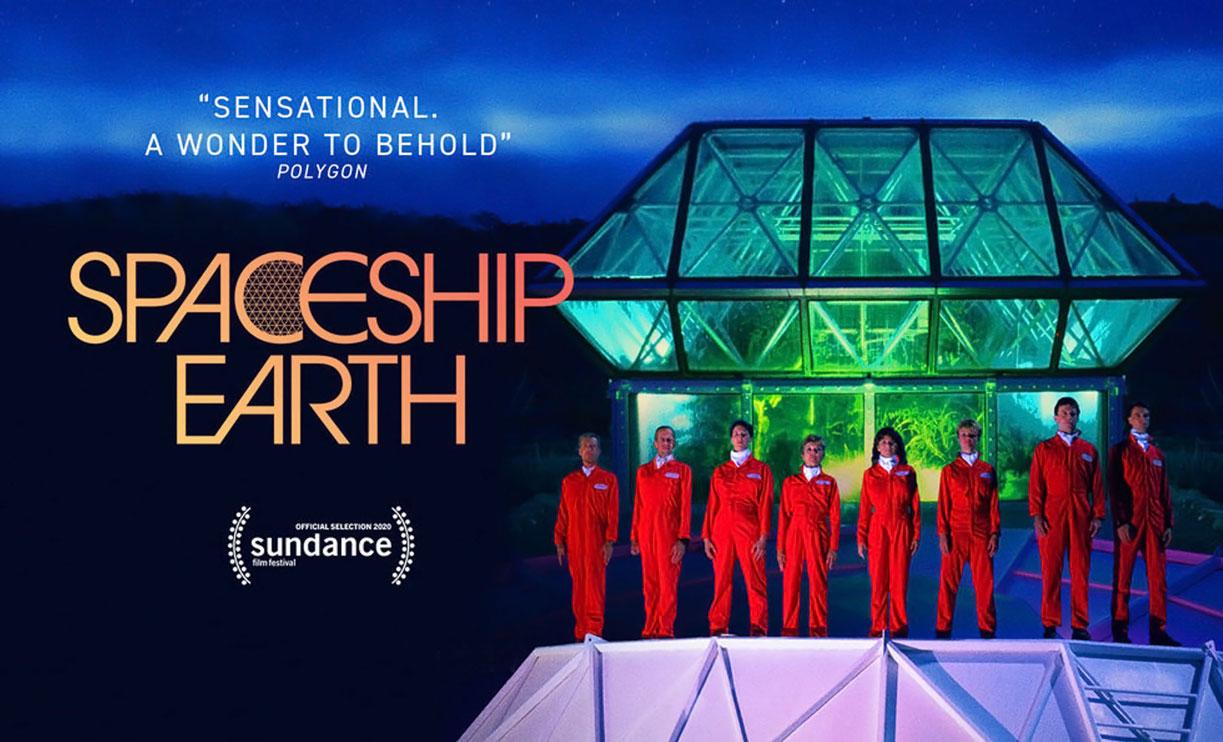 Spaceship Earth cinema film Trieste Science+Fiction Festival 2020