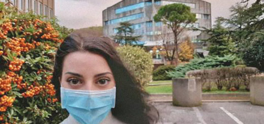 Università di Trieste campagna mascherine