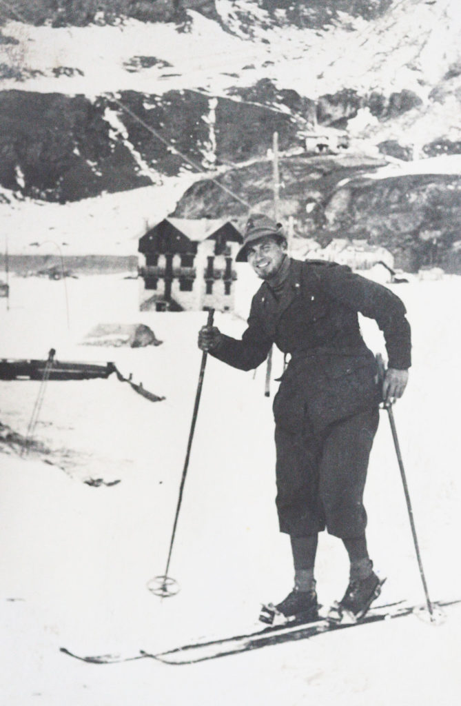 Gianni Mohor su sci