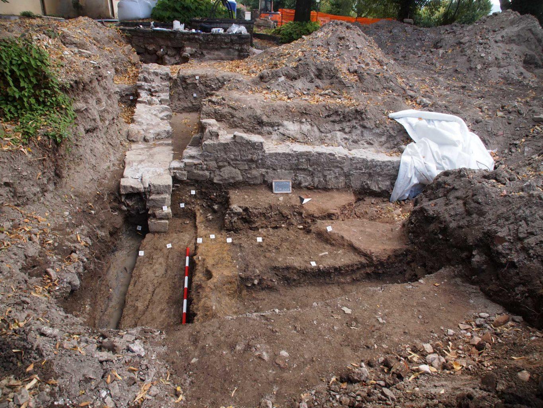 Borgo Castello di Gorizia scavi
