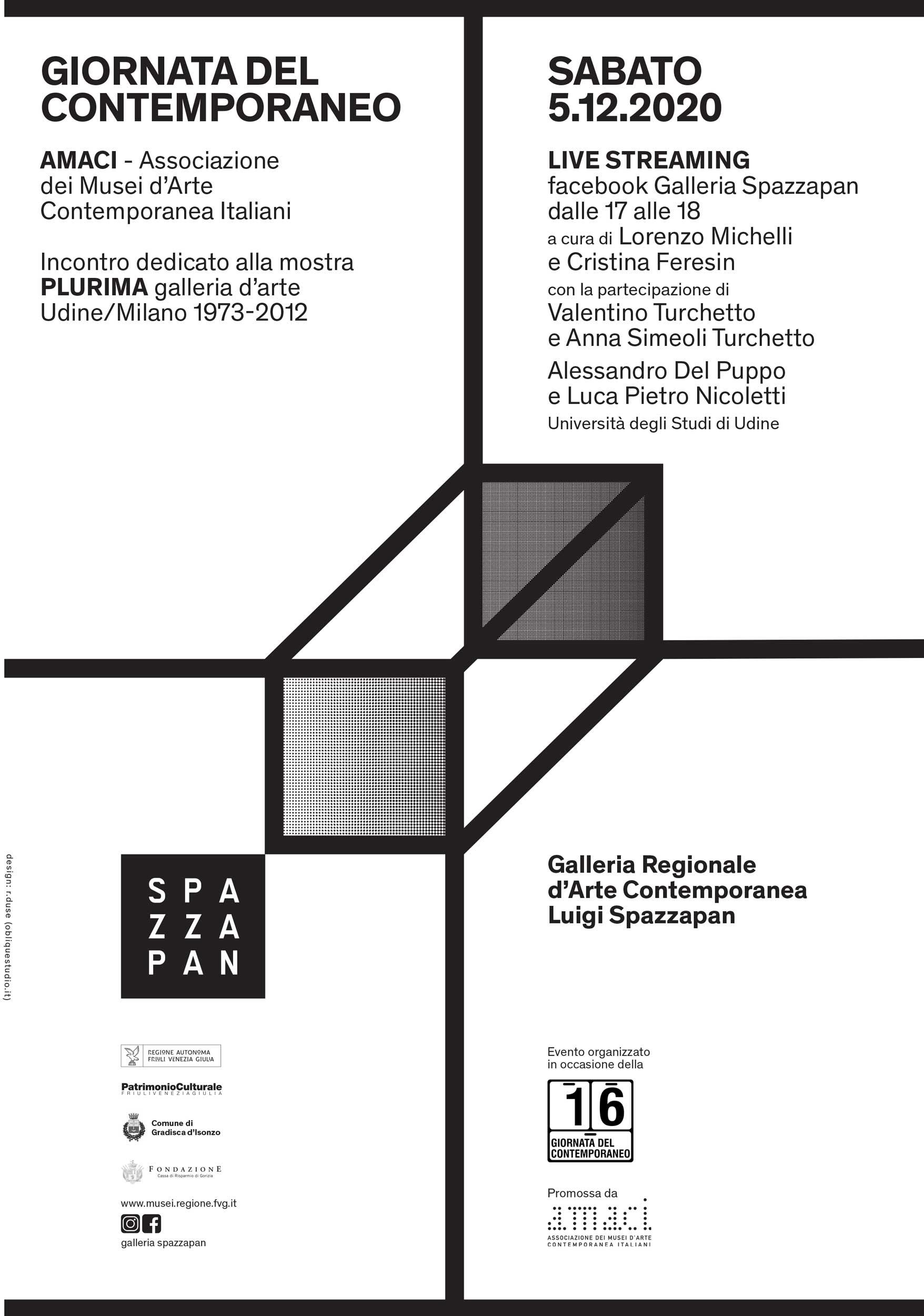 Giornata del Contemporaneo Galleria Spazzapan