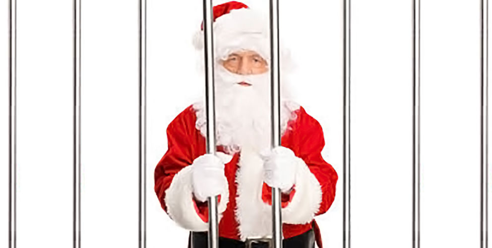 Babbo Natale in prigione
