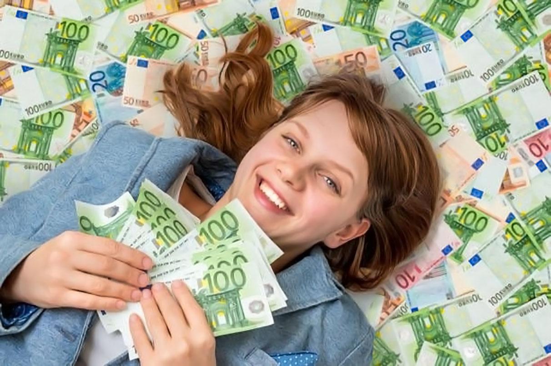 bagno di denaro soldi a iosa