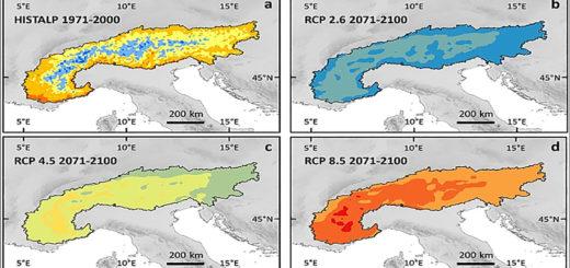 cambiamenti climatici Alpi