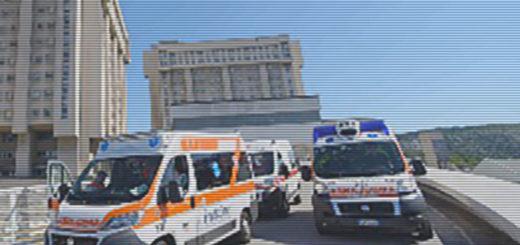 Ospedale di Cattinara rampa pronto soccorso