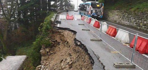 cedimento strada del Friuli
