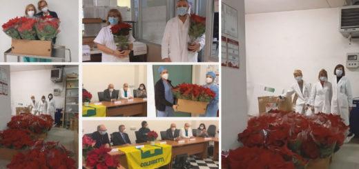 Cerimonia consegna stelle di Natale Asugi Coldiretti
