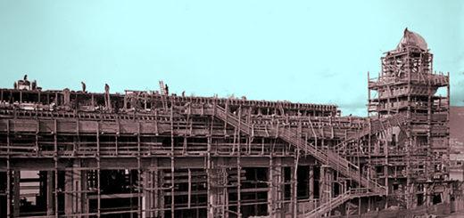 costruzione pescheria centrale di Trieste mercato del pesce
