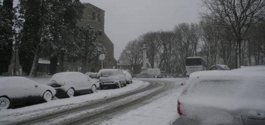 Neve a San Giusto a Trieste - informatrieste