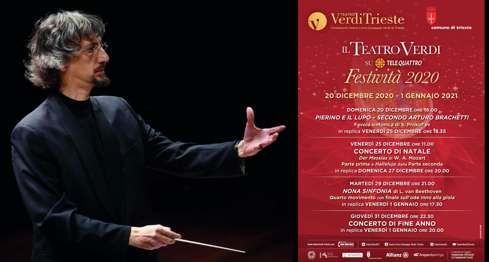 maestro Federico Maria Sardelli Teatro Verdi di Trieste
