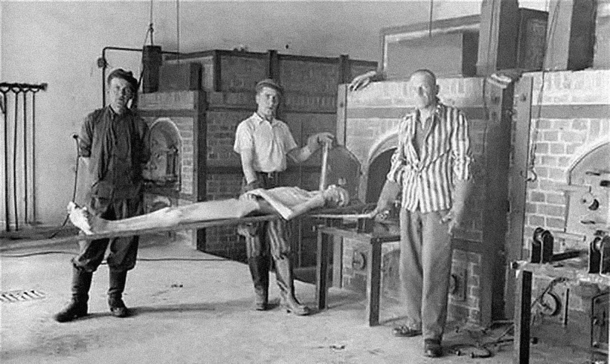 giornata della memoria campo di concentramento nazista di Dachau - forno