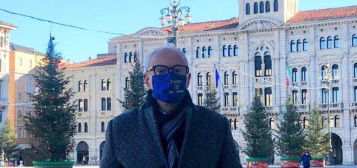 Giorgio Cecco piazza Unità Trieste