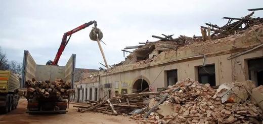 macerie Petrinja Croazia terremoto