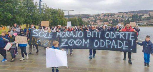 manifestazione Koper Capodistria