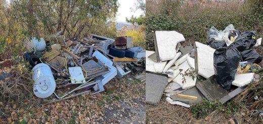 discarica abusiva rifiuti