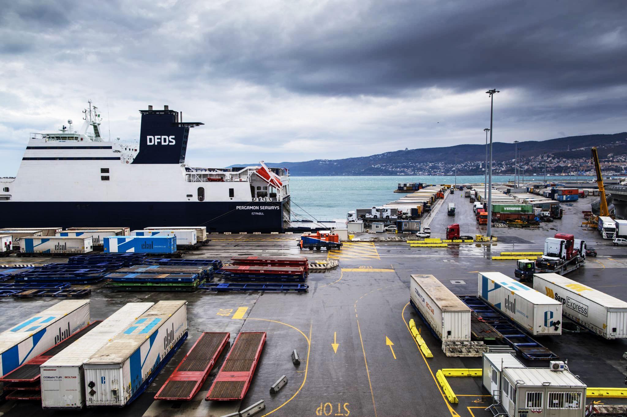 Porto di Trieste - Molo VII