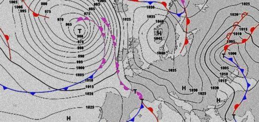 isobare cartina meteo 12 febbraio 2021
