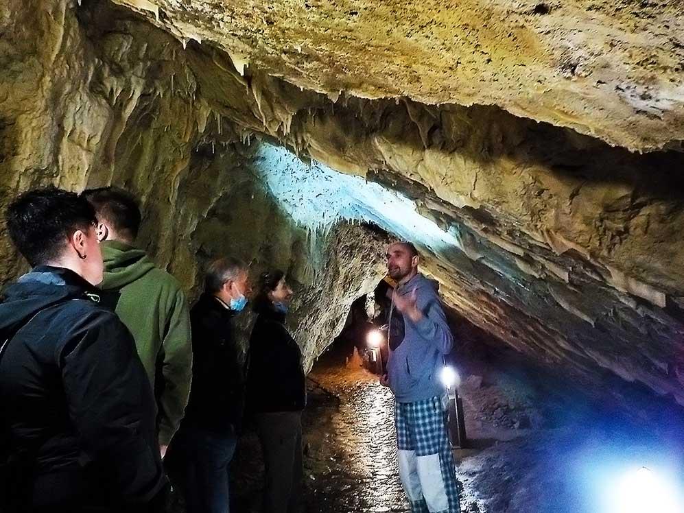 Grotte di Villanova, visita guidata