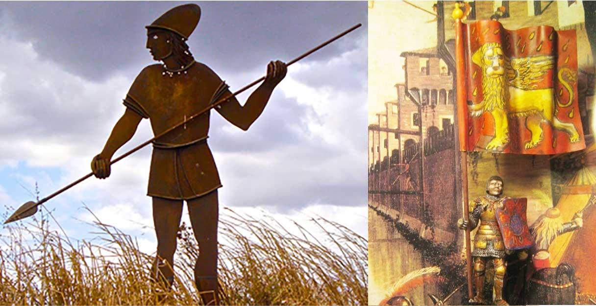guerrieri baresi e veneziani
