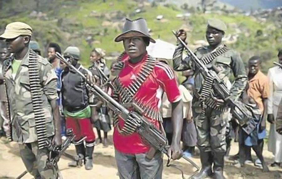 guerriglia in Congo