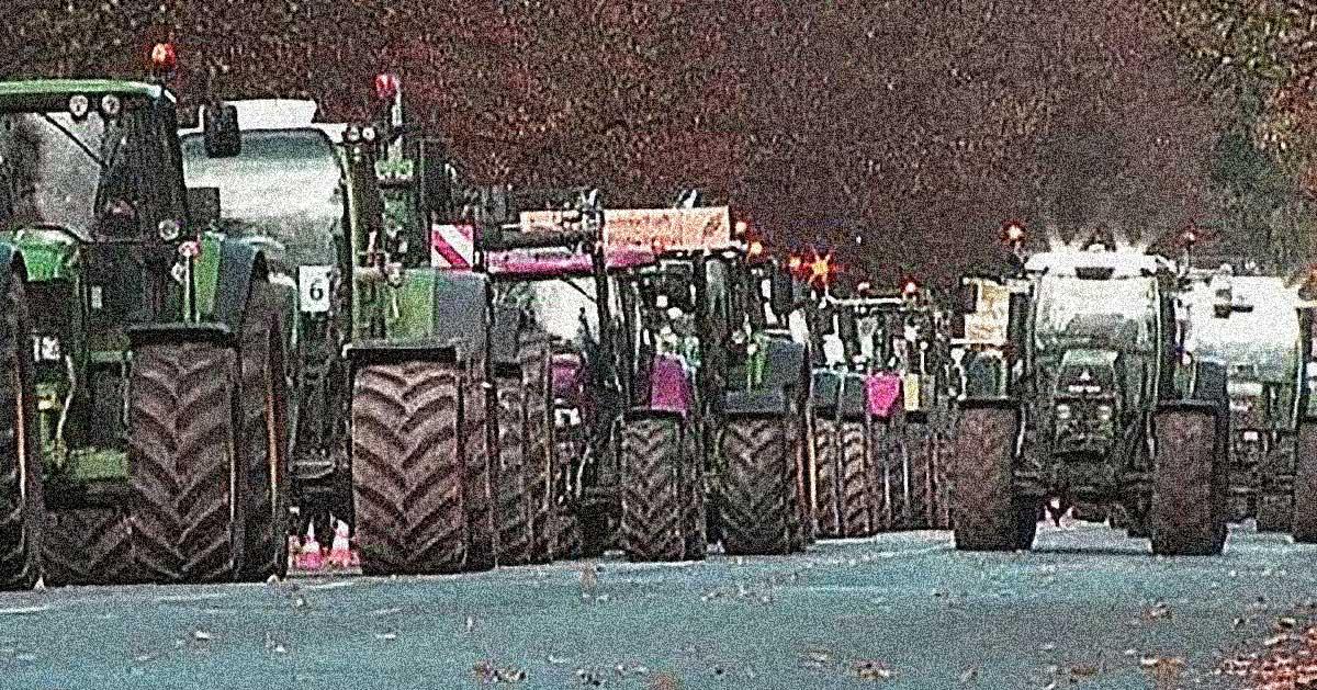 trattori manifestazione