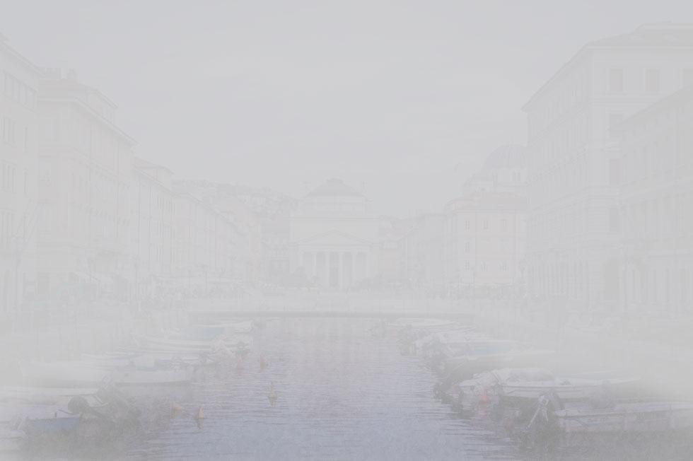 nebbia a Trieste