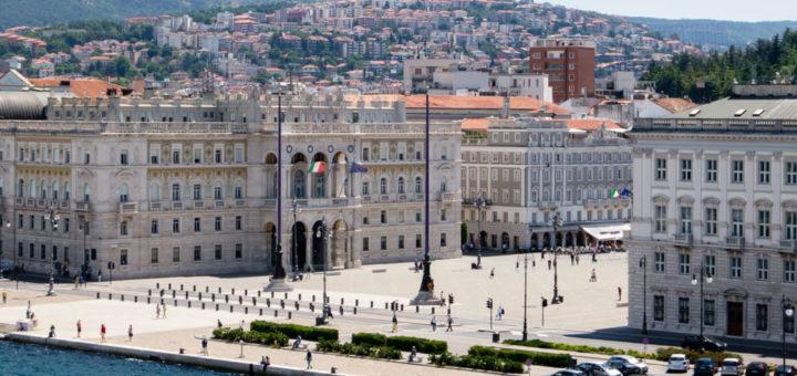 piazza Unità piaza Grande Trieste