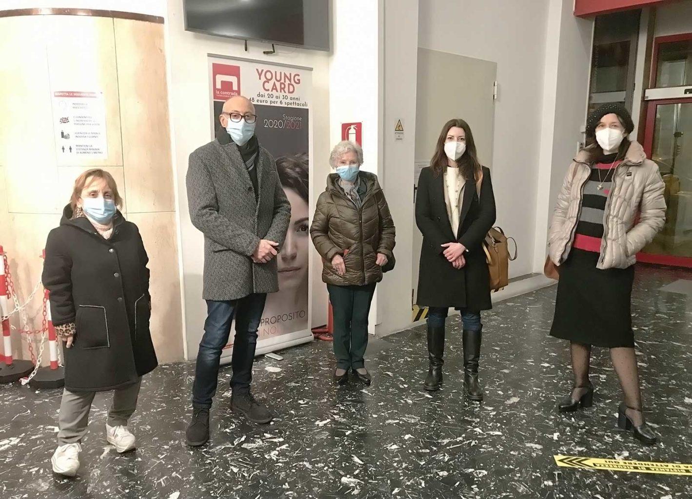 Progetto FVG Ariella Reggio Teatro Bobbio Trieste