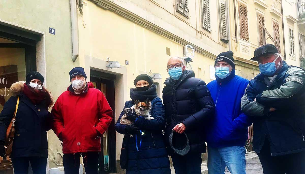 Via Foschiatti Progetto FVG Trieste