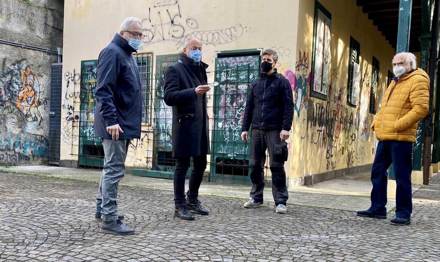 Villa Cosulich Gretta Trieste Giorgio Cecco Progetto FVG