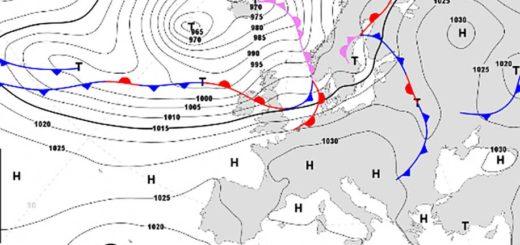 cartina meteo Trieste 28 marzo 2021