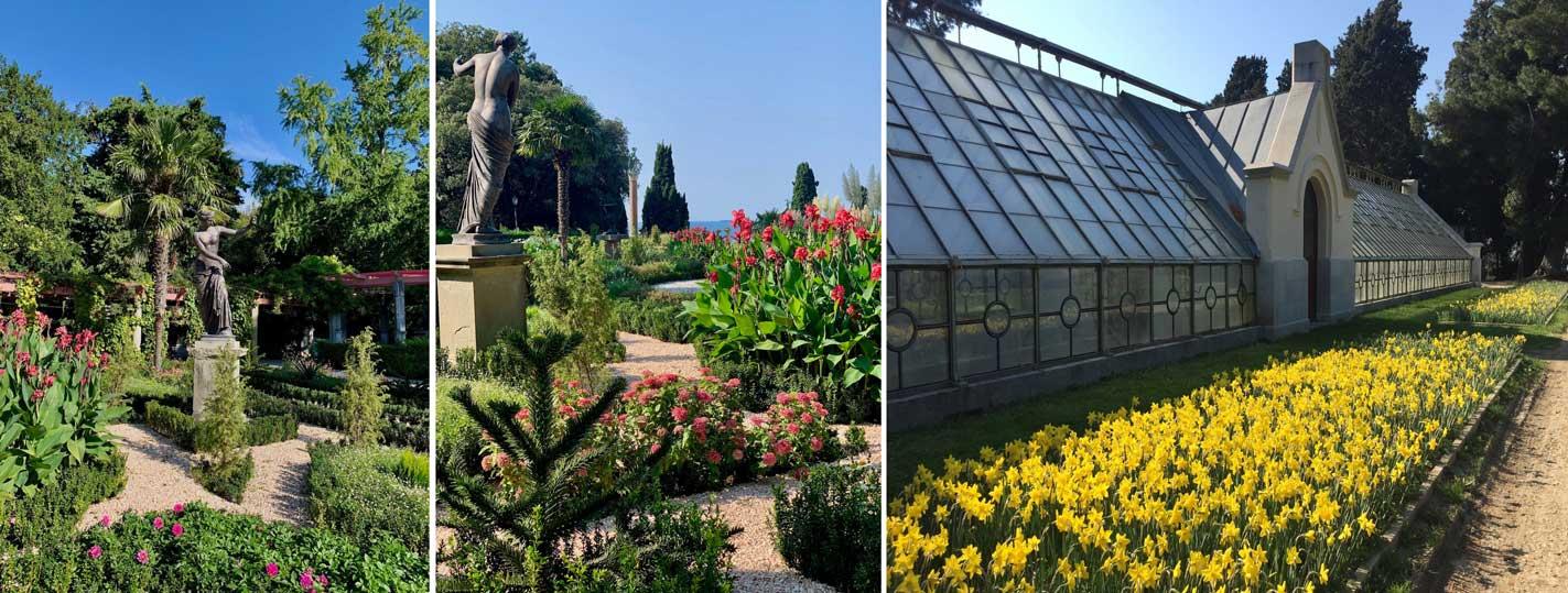 fiori Parco di Miramare marzo 2021