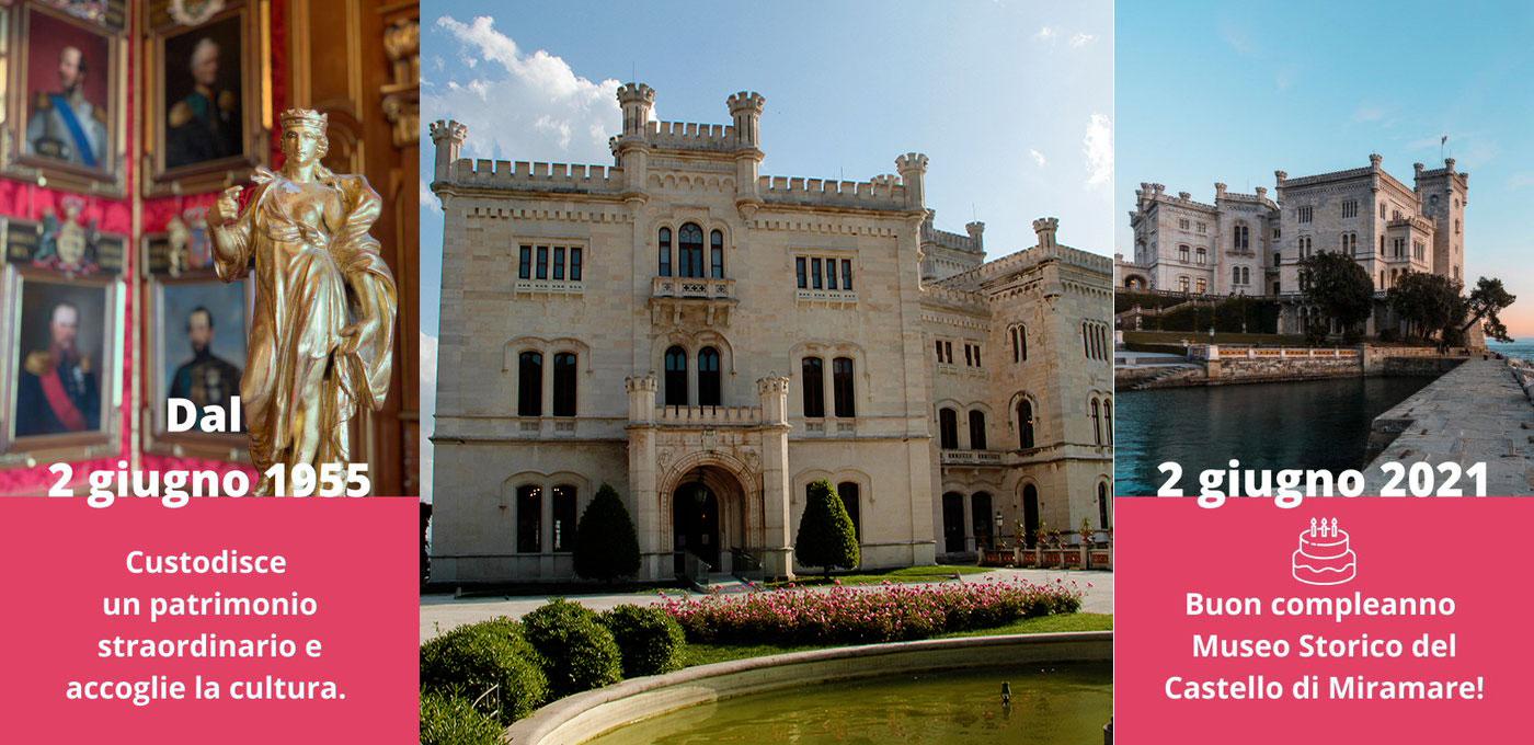 compleanno Museo Storico del Castello di Miramare