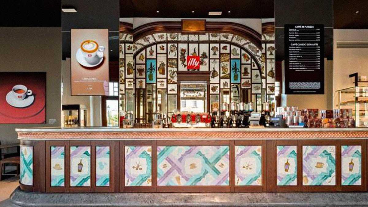 Illy caffeteria via Rossini