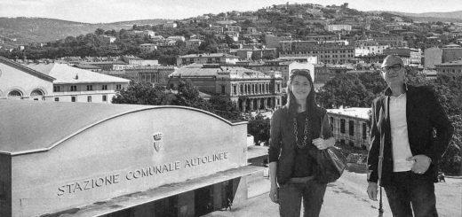 Giorgio Cecco Alice Tessarolo autostazione delle Corriere Trieste Sala Tripcovich