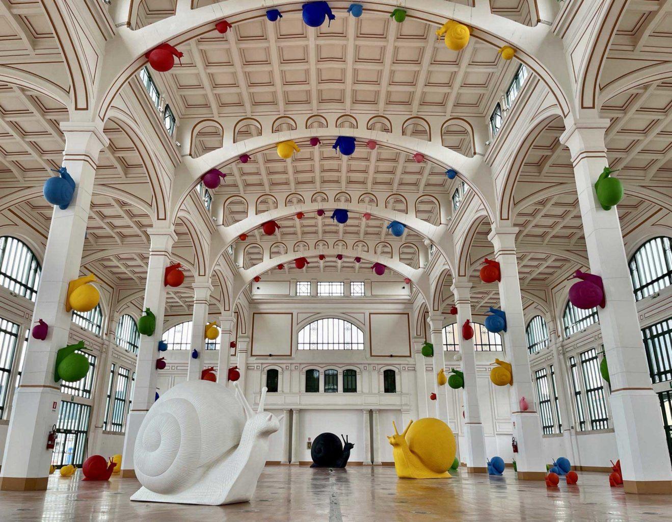 cracking art Salone degli Incanti Trieste