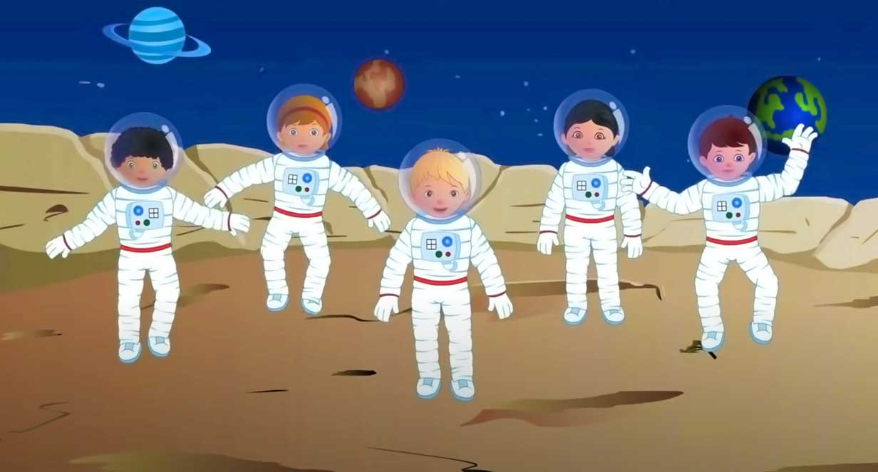 giovani cosmonauti
